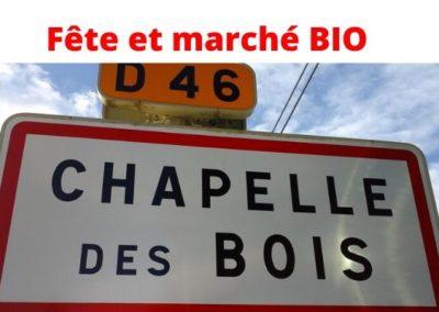 8/9 Août: Fête du Bio de Chapelle-des-Bois