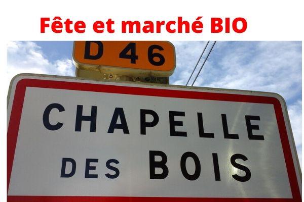 Août: Fête du Bio de Chapelle-des-Bois