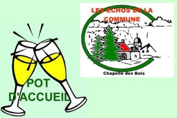 Accueil à la Mairie de Chapelle